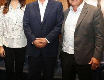 Logo na segunda feira Gersinho Romero já se reunia com o governador Geraldo Alckmin em busca de melhorias para Caieiras