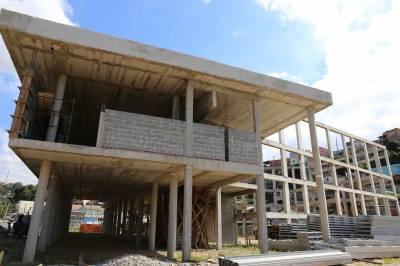 Obras do Centro de Desenvolvimento Cultural de Caieiras avançam