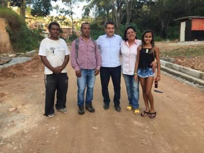 Caieiras com mais acesso: Administração Roberto Hamamoto e Gersinho Romero atende mais um pedido da população e realiza prolongamento de rua na Vila dos Pinheiros