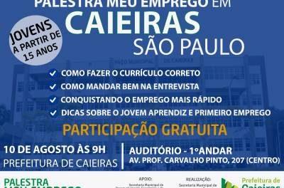 Prefeitura de Caieiras realiza ações voltadas a jovens caieirenses