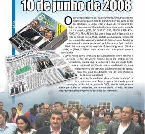 O início da mudança de Caieiras tem oficialmente uma data: 10 de junho de 2008