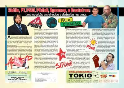 Stélio, PT, PSOl, PCdoB, Apeoesp, e Boateiros: Uma oposição envelhecida e destruída nas urnas