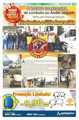A maior campanha de combate ao Aedes aegypti fecha com chave de ouro em Vila Rosina e Sitio Aparecida