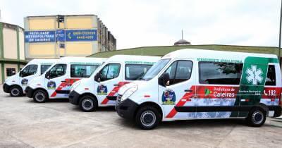 Secretaria Municipal de Saúde de Caieiras renova sua frota de ambulâncias