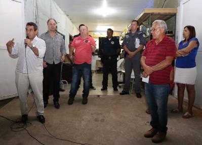 Conseg de Caieiras promoveu reunião com os moradores do Morro Grande