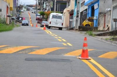 Ações da Prefeitura ampliam organização do Trânsito em  Francisco Morato