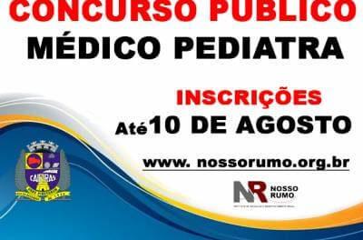 Prefeitura de Caieiras abre concurso público para médico pediatra