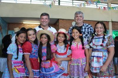 Festas juninas são realizadas com sucesso nas escolas municipais