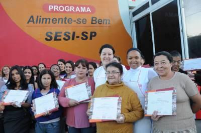 Inscrições para o Programa Alimente-se Bem, do SESI, serão abertas no dia 4 de agosto