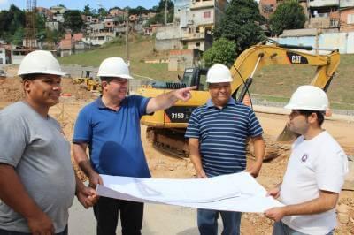Obras dos Terminais Rodoviários seguem a todo vapor em Francisco Morato