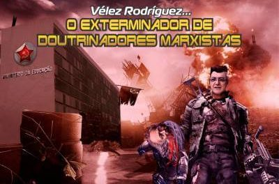 Vélez Rodríguez… O exterminador de doutrinadores marxistas