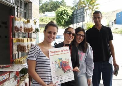 Secretaria da Saúde de Caieiras realiza campanha de conscientização sobre os riscos do benzeno para os frentistas