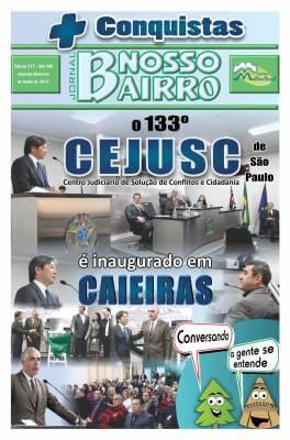 + Conquistas  O 133ºCEJUSC de São Pauloé inaugurado em Caieiras