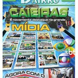 Caieiras é novamente destaque na grande mídia agora com o Boxe