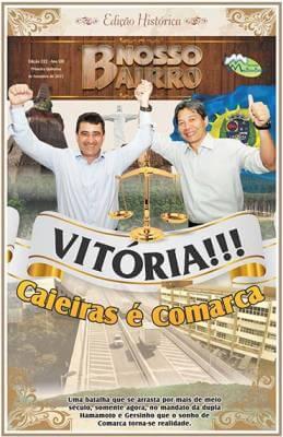 Vitória!!! Caieiras é Comarca