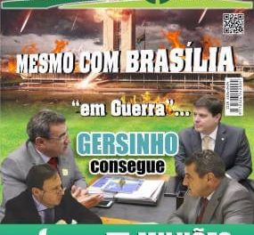 """Mesmo com Brasília """"em Guerra""""…  Gersinho consegue + R$ 5 milhões para Caieiras"""