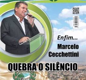 Enfim… Marcelo Cecchettini Quebra o Silêncio