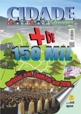 + de 150 Mil Turistas em Caieiras em 2018. Só que…