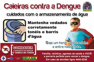 Caieiras é a cidade com menos casos de dengue em toda a região