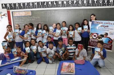Prefeitura de Caieiras realiza campanha de conscientização sobre a dengue nas escolas