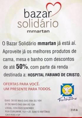 Hospital de Retaguarda Fabiano de Cristo terá programação especial em outubro