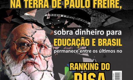 Na terra de Paulo Freire, sobra dinheiro para Educação e Brasil permanece entre os últimos no Ranking do PISA