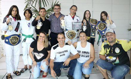 """Equipe de Jiu-jitsu do Portal das Laranjeiras ganhou quatro medalhas de ouro e uma de prata no evento """"SP Challenge 2019"""""""