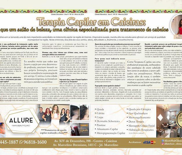 Terapia Capilar em Caieiras: + que um salão de beleza, uma clínica especializada para tratamento de cabelos.