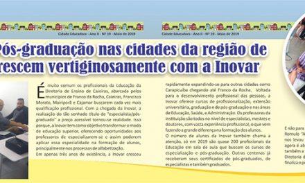 Cursos de Pós-graduação nas cidades da região de Caieiras crescem vertiginosamente com a Inovar