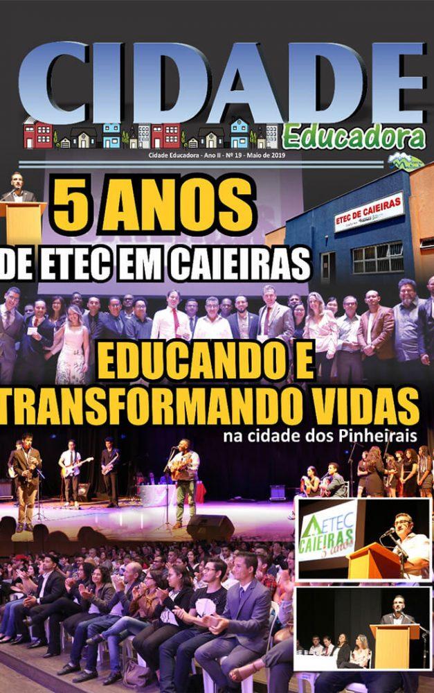 5 anos de ETEC em Caieiras educando e transformando vidas na cidade dos Pinheirais.