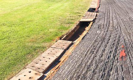 Obras da reforma da pista de atletismo avançam