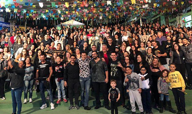João Suplicy, Trovadores Urbanos e artistas regionais encerram a Festa de Santo Antônio