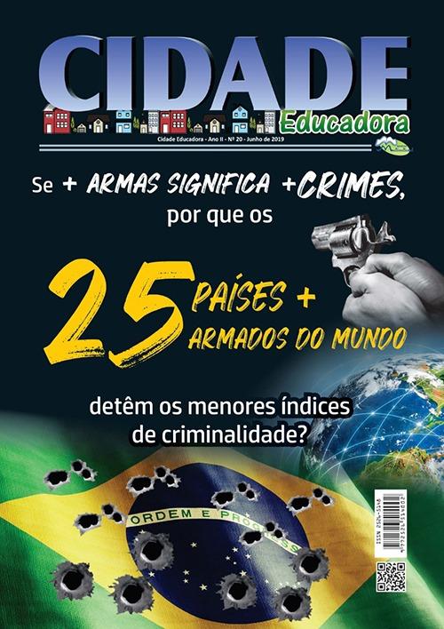 Se + Armas significa + crimes, por que os 25 países + armados do mundo, detêm os menores índices de criminalidade?