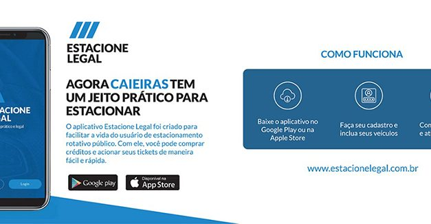 "Estacione Legal: Caieiras recebe nova ""Zona Azul"" digital"