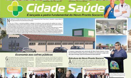 Cidade Saúde: É lançada a pedra fundamental do Novo Pronto Socorro
