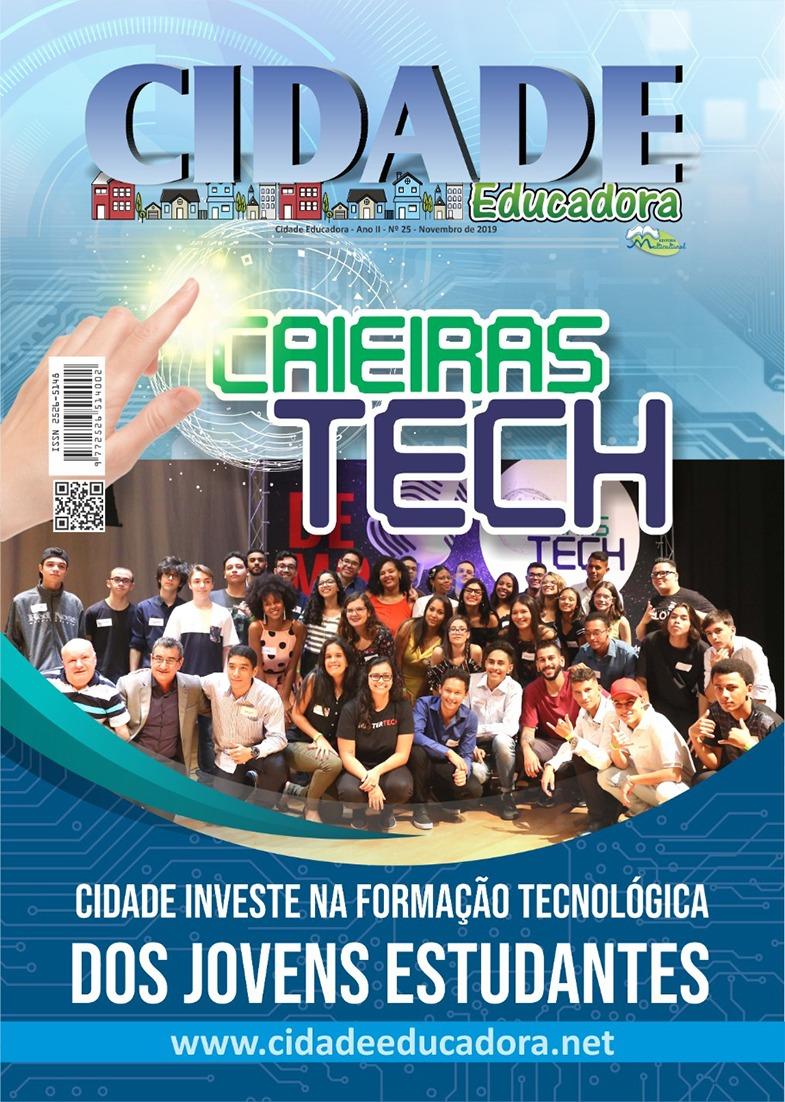 Cidade Tech: Caieiras investe na formação tecnológica dos jovens estudantes