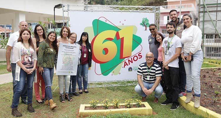 """Caieiras inaugura o primeiro """"Jardim de Mel"""" da região"""