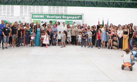 """Reforma do NEC """"Henrique Degasperi"""", na Vila Rosina, é entregue à população"""