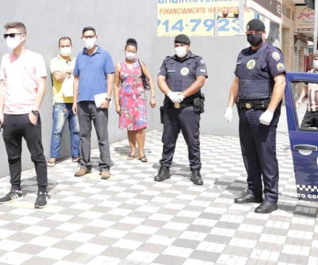 COVID-19: Guarda Municipal atua para conscientizar os cidadãos