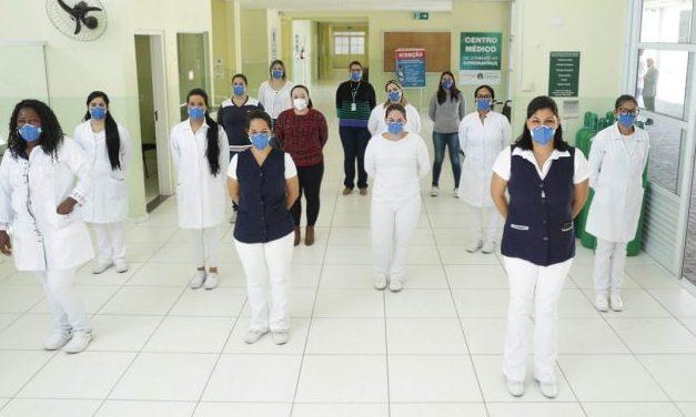 Centro Médico de Combate ao Coronavírus de Caieiras tem primeiro paciente curado da COVID-19