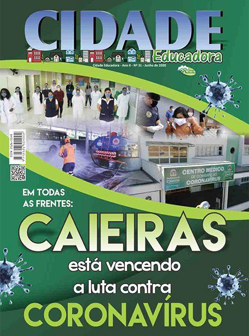 Em todas as frentes: Caieiras está vencendo a luta contra Coronavírus
