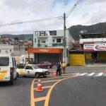 Ruas e avenidas de Caieiras recebem melhoria na sinalização viária