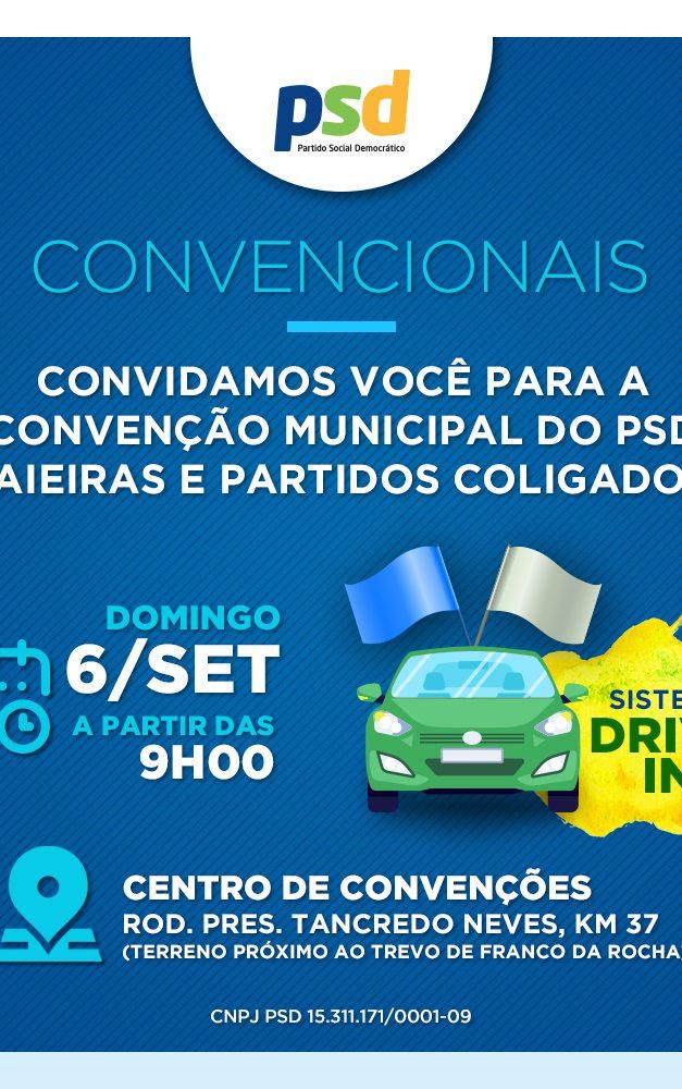 Partidos de Caieiras inovam e realizarão Convenções Partidárias em sistemaDrive-In