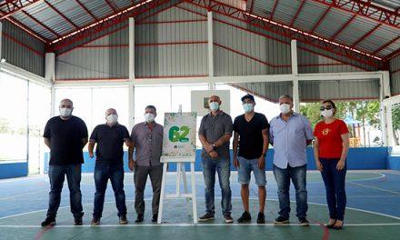 Prefeito Gersinho Romero entrega quadra do Morro Grande totalmente reformada