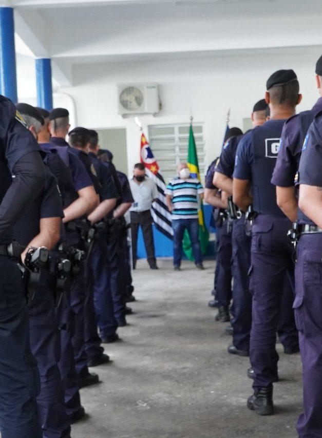 Mesmo Caieiras já sendo a cidade mais segura da Grande São Paulo prefeito Gersinho investe ainda mais e inaugura novo complexo da base da GCM