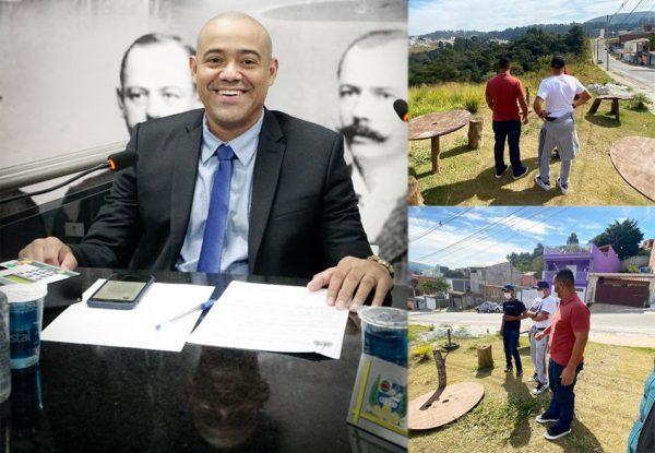 Professor Juninho em busca de mais qualidade de vida para o caieirense