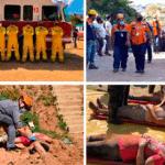 Defesa civil de Francisco Morato realiza intensos exercícios simulados de socorrismo