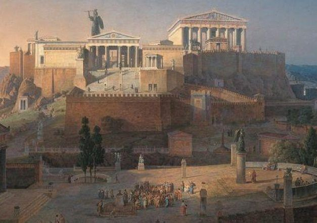Academia de Platão como primeira Universidade